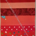 Red Donation Block (quilt 2) n.1