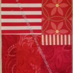Red Donation Block (quilt 2) n.4