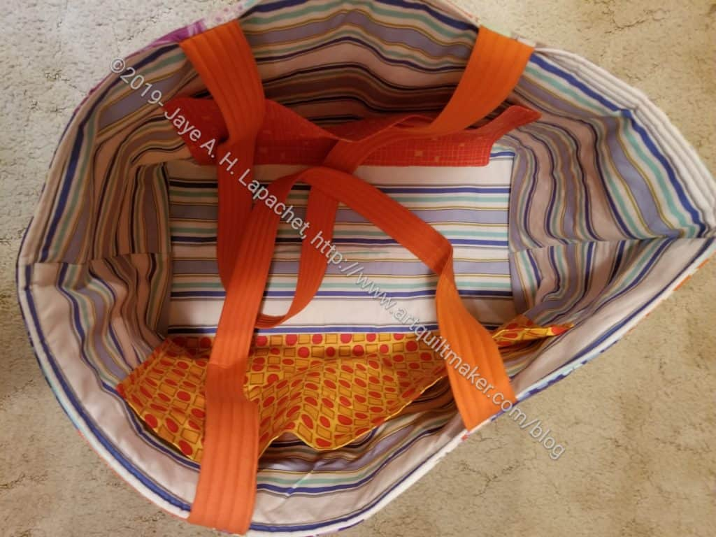 Good Fortune Chubby Charmer - lining with handles