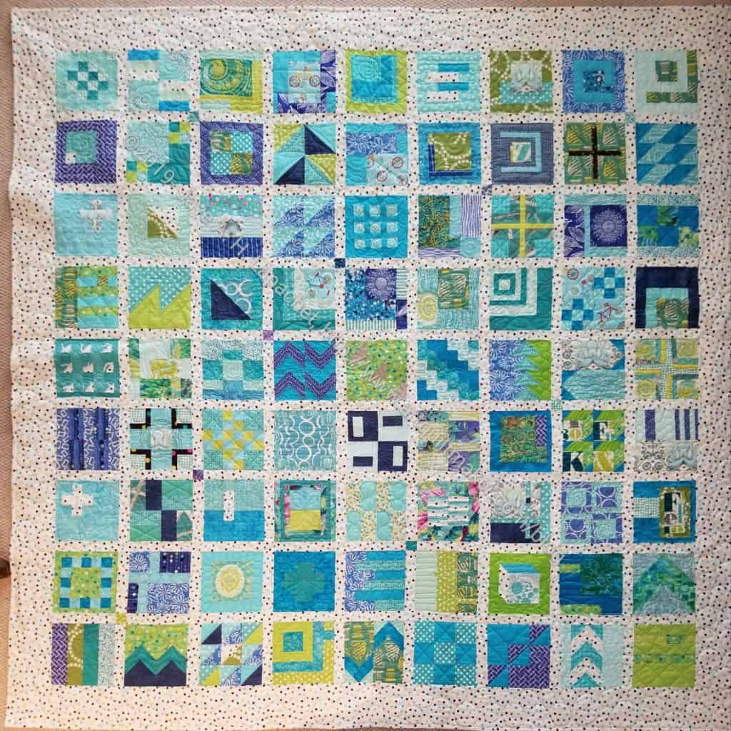 Finished: City Sampler- front