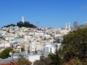 SF View towards Coit Tower