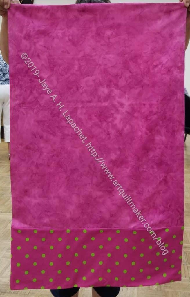 Pink Dot Pillowcase