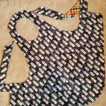 Mom's Paint Tube Flapper Apron