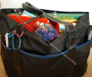 Quilting Go Bag