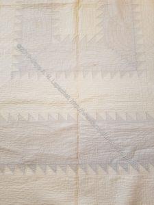 Marguerite & Juliette's quilt - detail