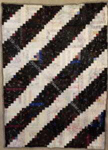 Marguerite & Juliette's silk quilt