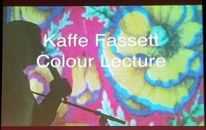 Kaffe Fassett Color Lecture