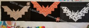 Bat Tablerunner top