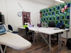 Cat's Quilting Studio classroom