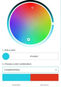 Canva Complementary Palette