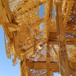 Burning Man temple: ceiling