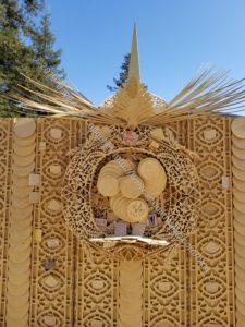 Burning Man Temple - detail