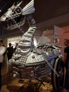 Burning Man Dragon Vehicle