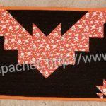 Bat Tablerunner: finished