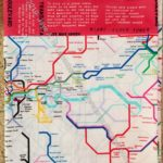 London subway map pillowcase
