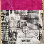 London pillowcase