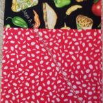 Mexican Food cuff pillowcase