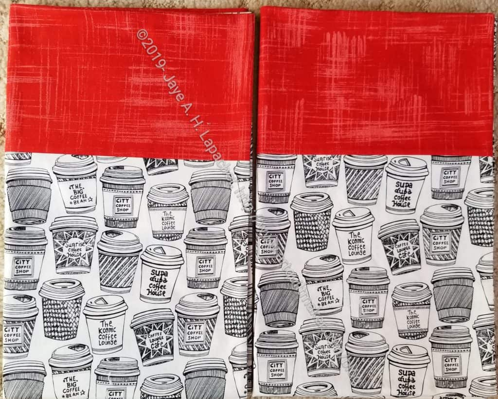 Coffee Cup Pillowcases
