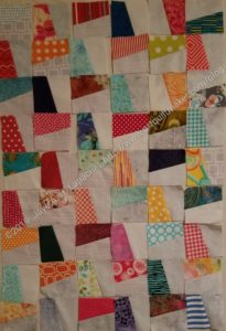 Windmill first sewn blocks - layout 1