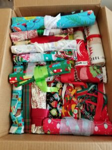 Gift Bags stored and ready for use