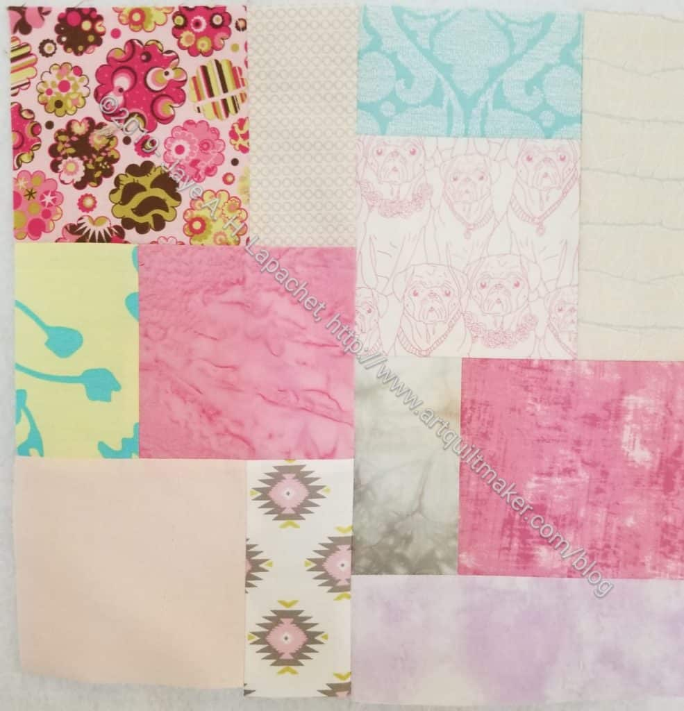 Scrappy Community Quilt Day block 9