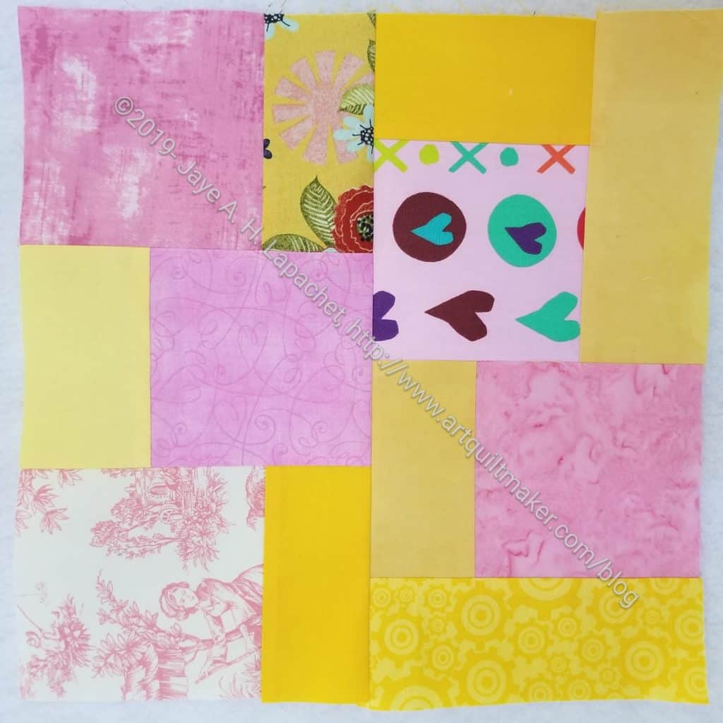 Scrappy Community Quilt Day block 5
