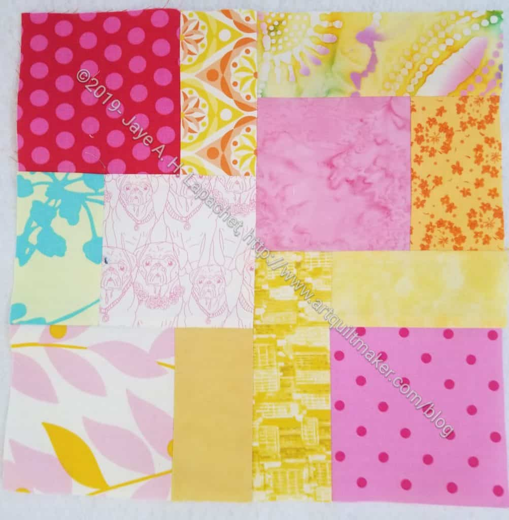 Scrappy Community Quilt Day block 2