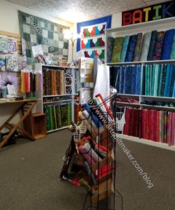 Ocean Waves Quilt Shop, Eureka-7-11 quilt