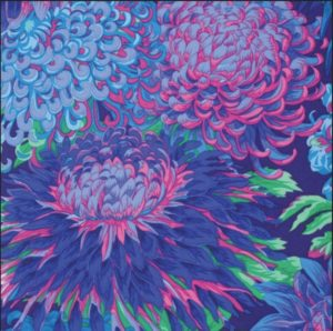 Philip Jacobs Chrysanthemum Blue