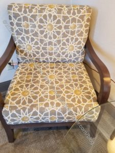 Quilt design inspiration chair