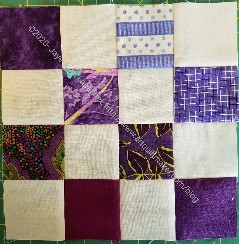 Mixed Purple 16 Patch