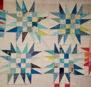 New Blue Spiky 16 Patch in progress