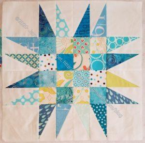 New Blue Spiky 16 Patch #1