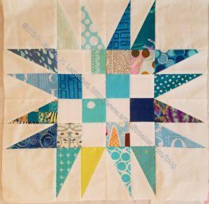 New Blue Spiky 16 Patch #2