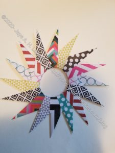 Marquee Love Paper Wreath