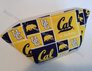 Cal themed Cotton Candy Pouch