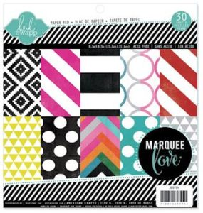 Marquee Love Paper