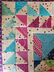 Frolic! Top finished- corner detail