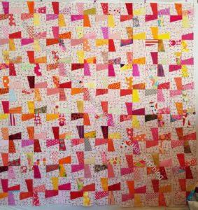 Warm Windmill n.2 - blocks sewn