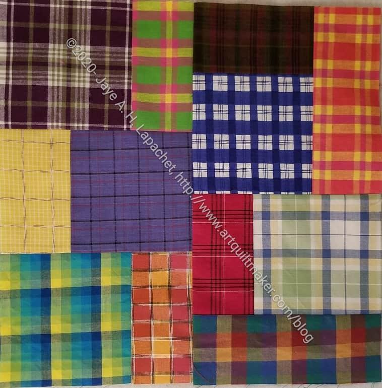 Plaid Squares & Rectangles n.1