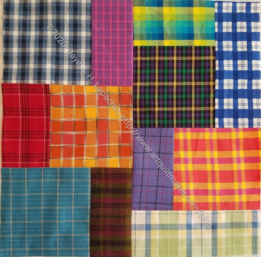 Plaid Squares & Rectangles n.3