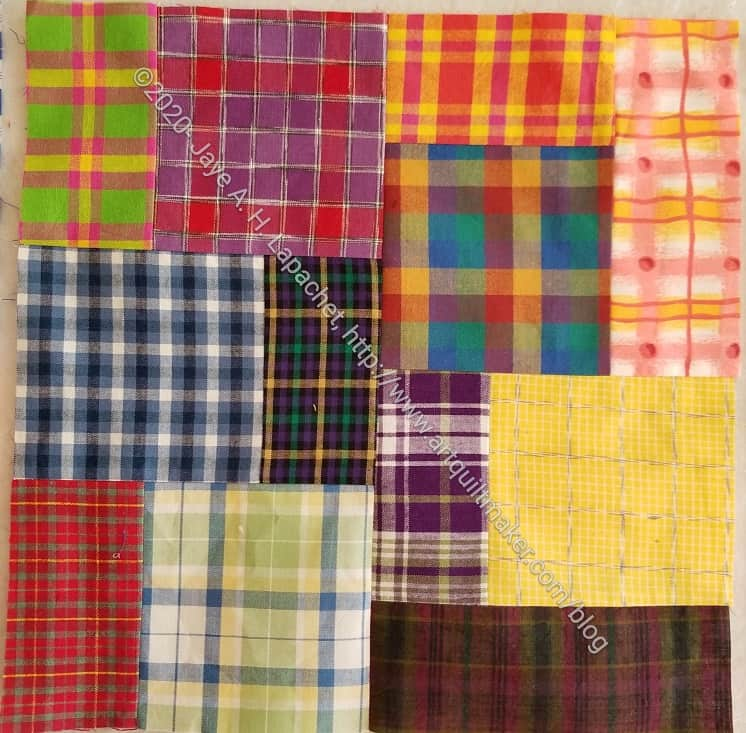 Plaid Squares & Rectangles n.5