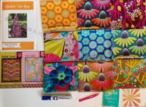 Contents of May 2020 Modern Quilter's Box