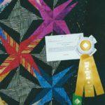Spiky Stars at Marin Needlearts Guild Show winner