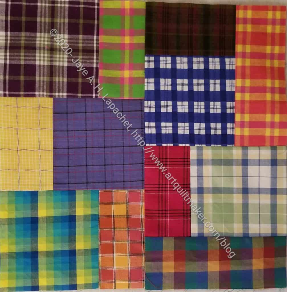 Plaid Squares & Rectangles n.7