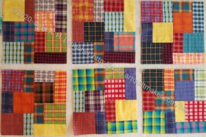 6 Plaid Blocks