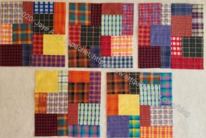 5 Plaid Blocks