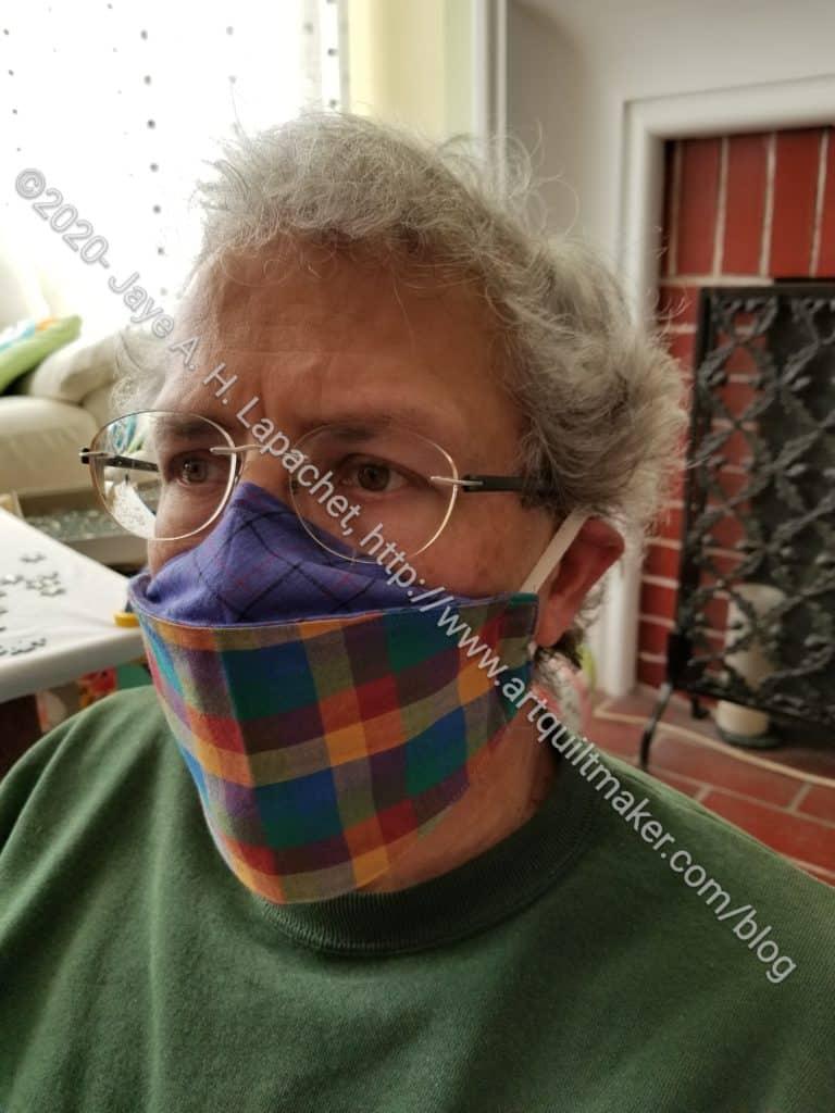 DH Plaid mask