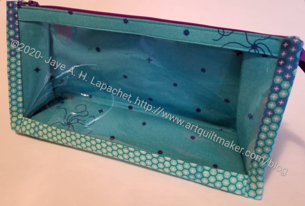 Boxy Clear Pouch
