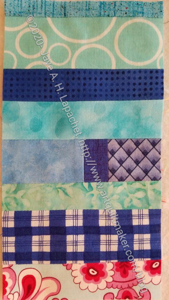 Blue Strip Donation Block #2-15